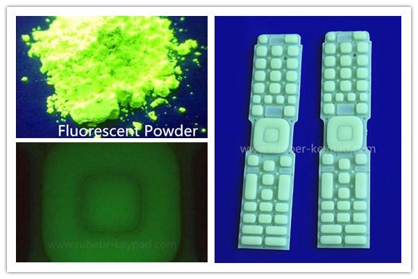 Teclado fluorescente