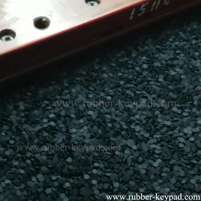 Pastillas de carbono del teclado